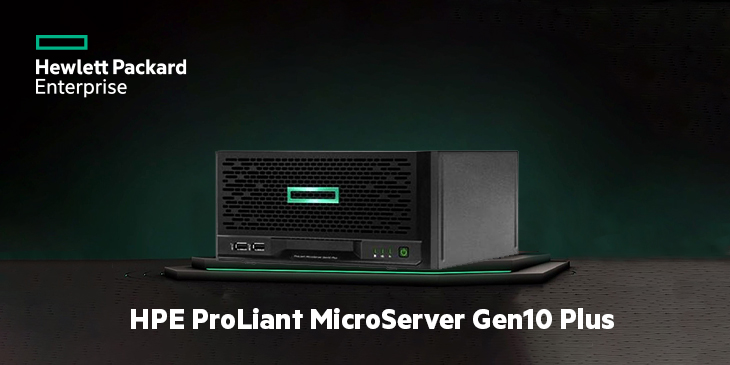 Secure Small Office Deployment with HPE ProLiant MicroServer Gen10 Plus
