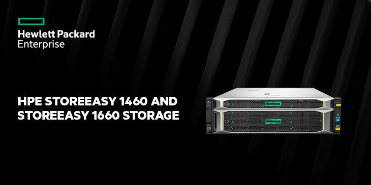 HPE StoreEasy 1460 and StoreEasy 1660 Storage