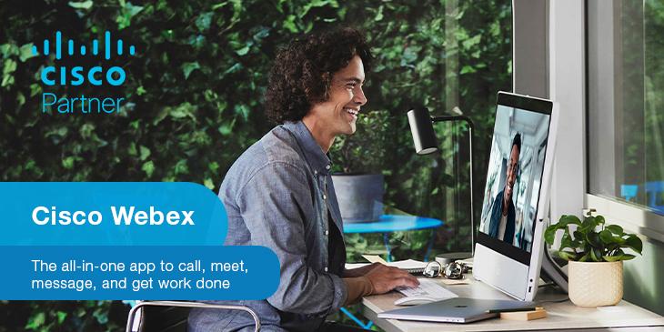 Work how you like, where you like with Webex